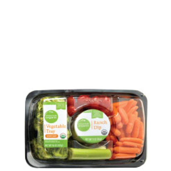 Simple Truth Organic Vegetable Tray With Dip