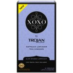 XOXO by TROJAN - Thin Softouch Lubricated Latex Condoms, 10 Ct