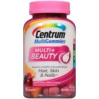 Centrum MultiGummies Multi+Beauty Gummies Multivitamin/Multimineral Supplement