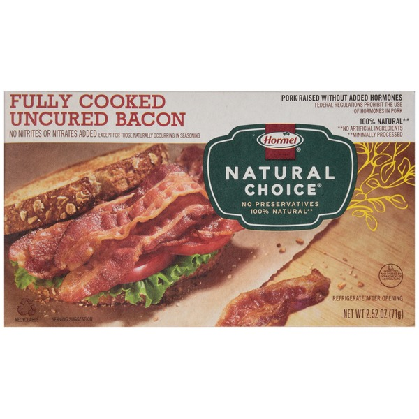 Hormel Fully Cooked Uncured Bacon