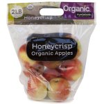 Organic Honeycrisp Apples, 2lb Bag