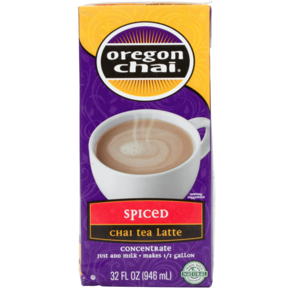 Oregon Chai. Spiced Chai Tea Latte Concentrate