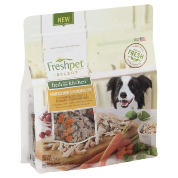 Freshpet Fresh from the Kitchen Chicken & Veg Dog Food