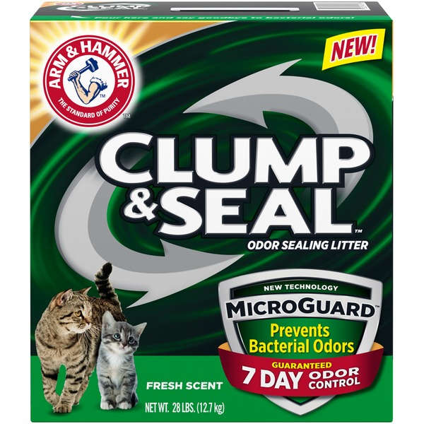 Arm & Hammer Clump And Seal Microguard Odor Sealing Litter