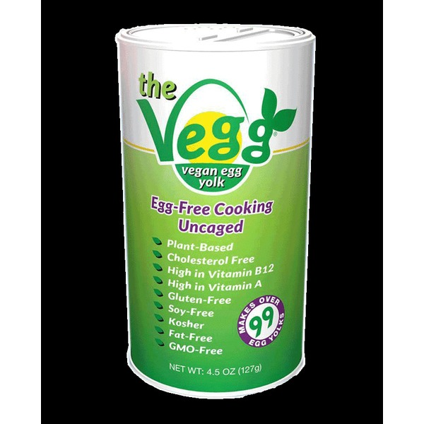 The Vegg Vegan Egg Yolk Canister