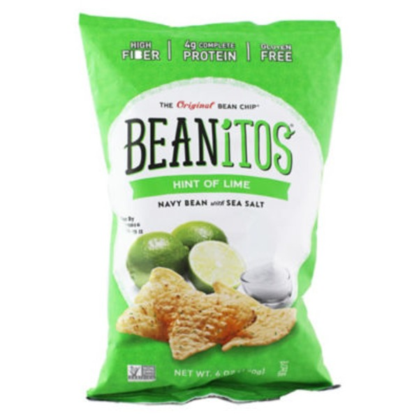 Beanitos The Original Bean Chip Hint Of Lime