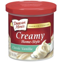 Duncan Hines Classic Vanilla Creamy Home-Style Frosting