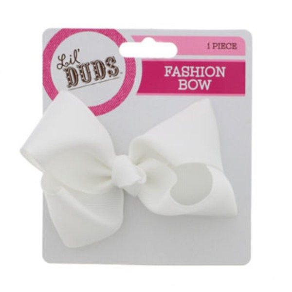 Lil' Duds White Bow