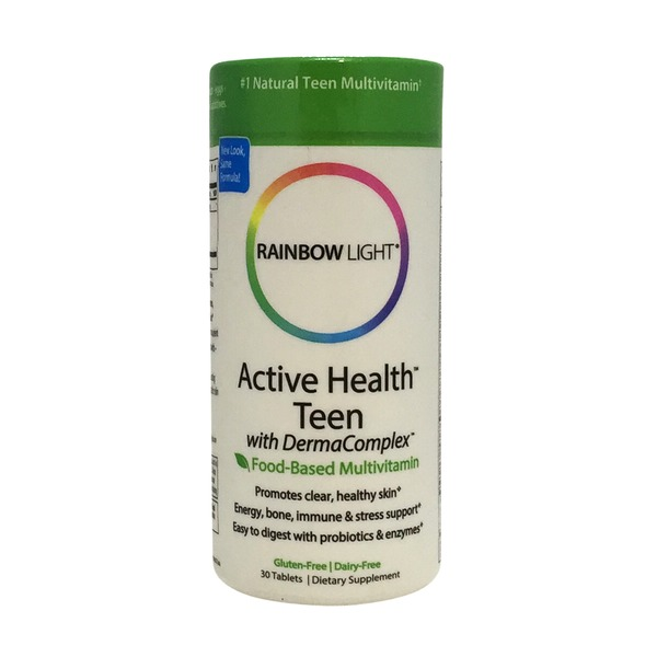 Rainbow Light Active Health Teen with DermaComplex Multivitamin