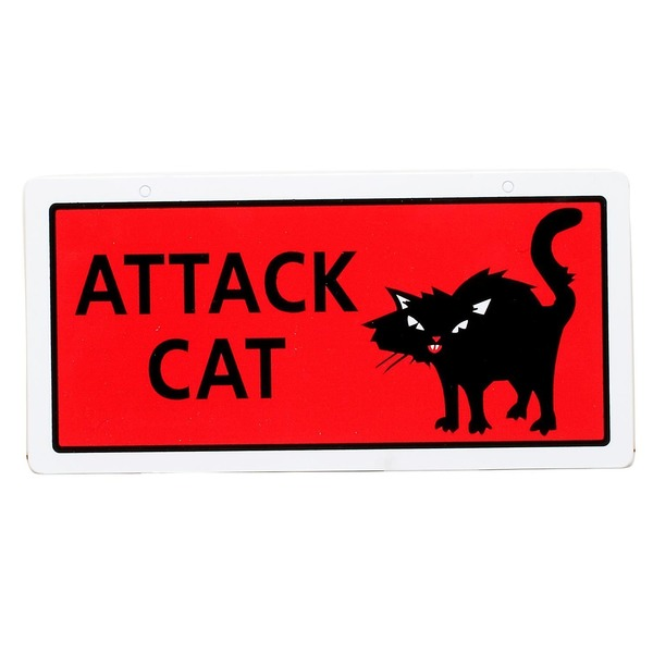 Hillman Group Sign Center Attack Cat