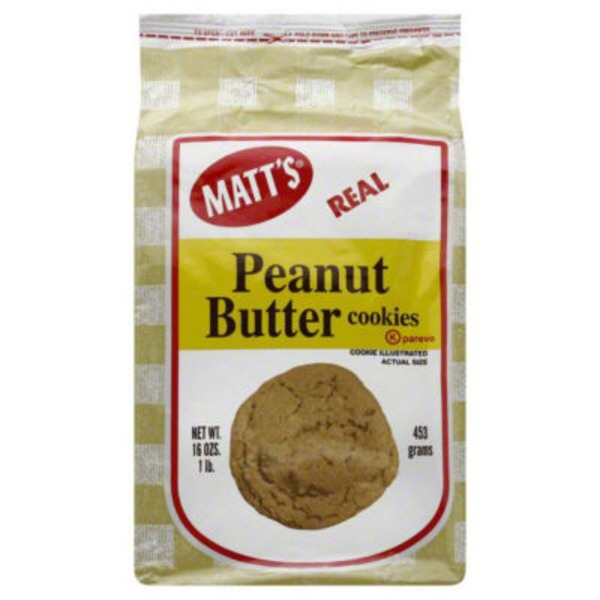 Matt's Peanut Butter Cookies