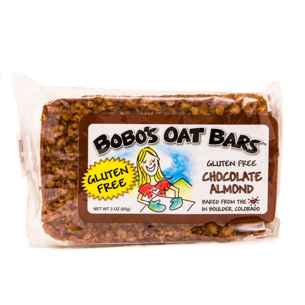 Bobo's Oat Bars Gluten Free Chocolate Almond Bar