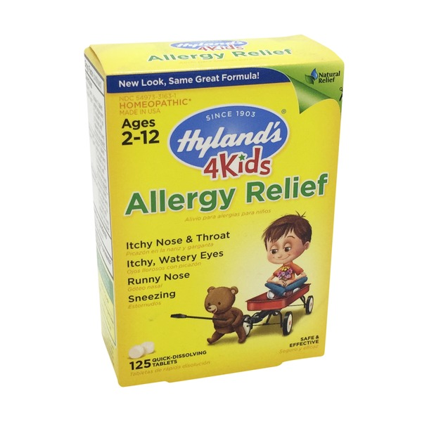 Hyland's Kid's Quick-Dissolving Allergy Relief Tablets
