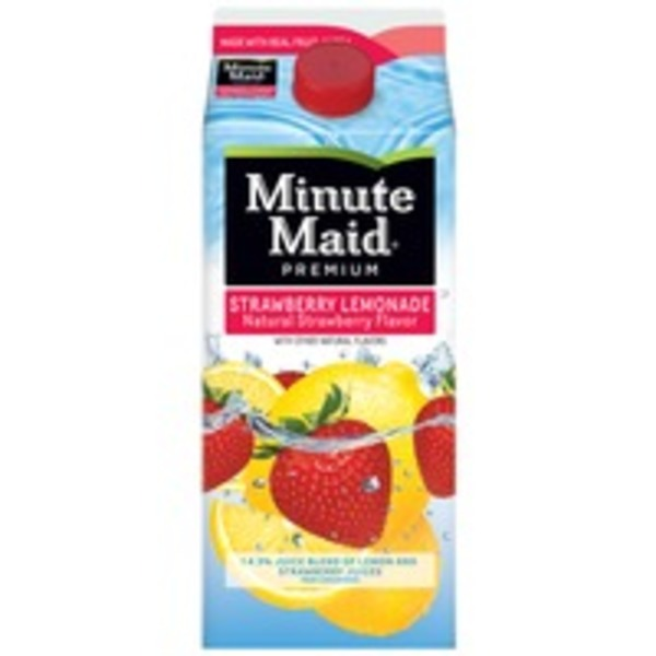 Minute Maid Strawberry Lemonade