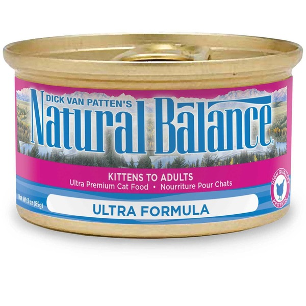 Natural Balance Cat Food, Original Ultra, Chicken, Salmon & Duck Formula, Can