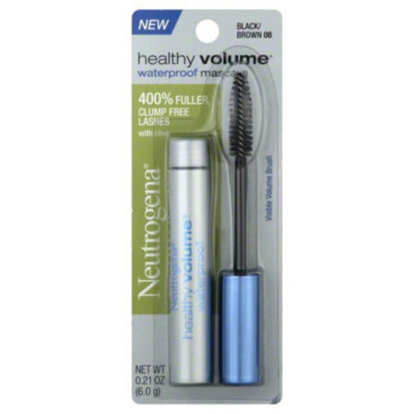 Neutrogena® Waterproof Mascara Black/ Brown 08 Healthy Volume®