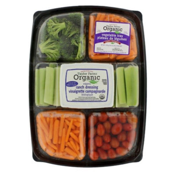 Foxy's Organic Vegetable Tray