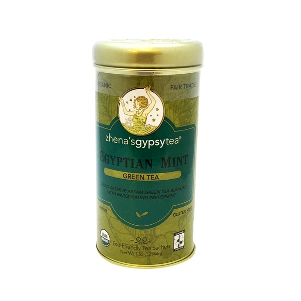 Zhena's Gypsy Tea Egyptian Mint Green Tea