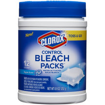 Clorox Control Regular Scent Water-Activated Solid Bleach Packs