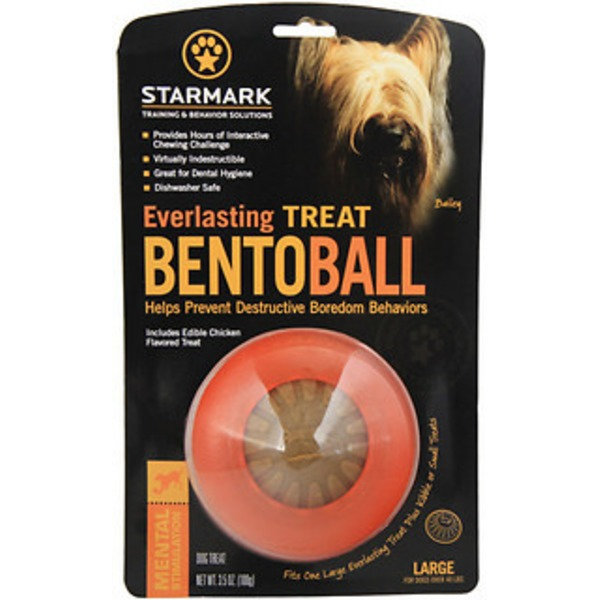 Starmark Large Bento Ball & Dental Treat