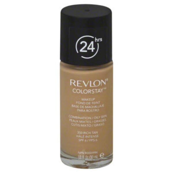 Revlon Makeup, Combination/Oily Skin, Rich Tan 350