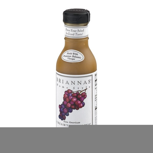 Brianna's Home Style New American Creamy Balsamic Dressing