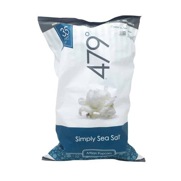 479 Popcorn, Artisan, Simply Sea Salt