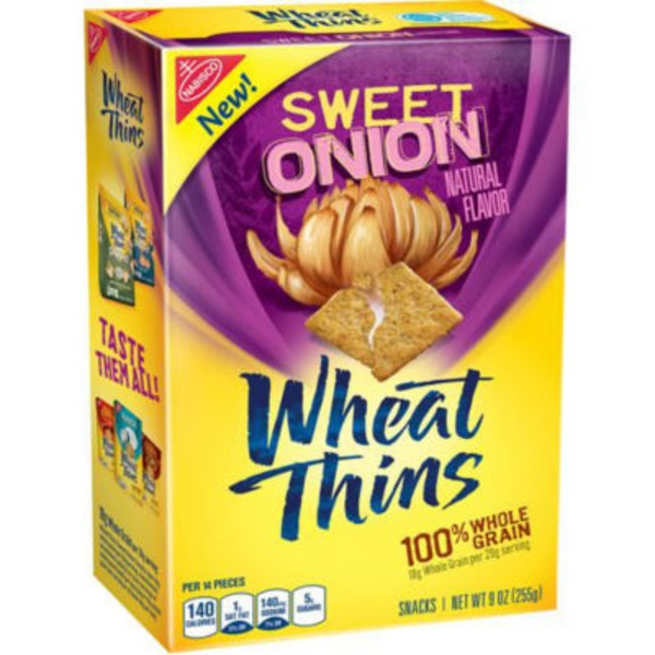 Wheat Thins Sweet Onion Crackers