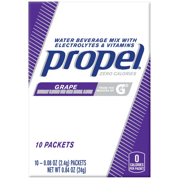 Propel Grape with Electrolytes & Vitamins Water Beverage Mix