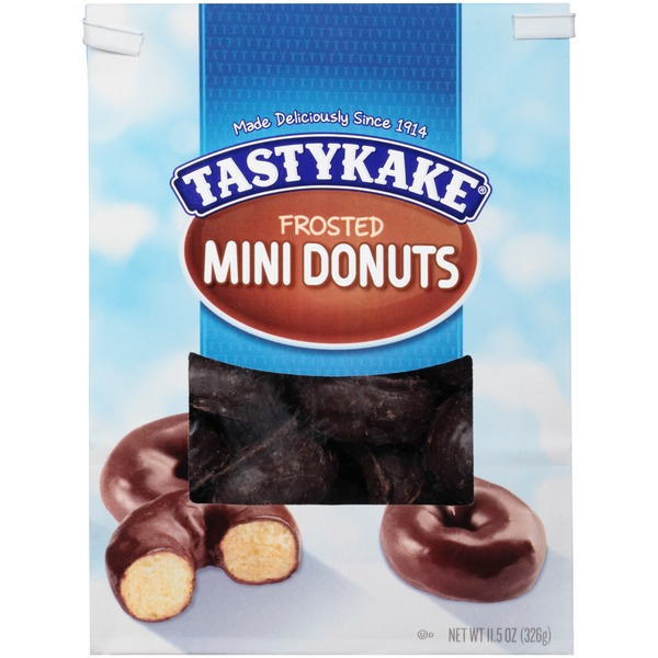 Tastykake Frosted Mini Donuts