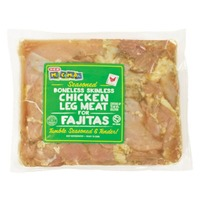 H-E-B Mi Comida Boneless Skinless Chicken Leg Meat For Fajitas