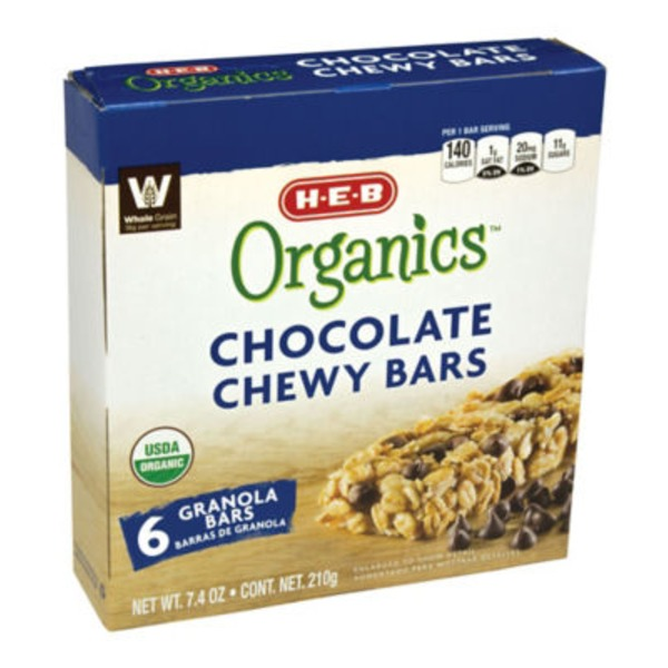 H-E-B Chocolate Chip Chewy Granola Bar