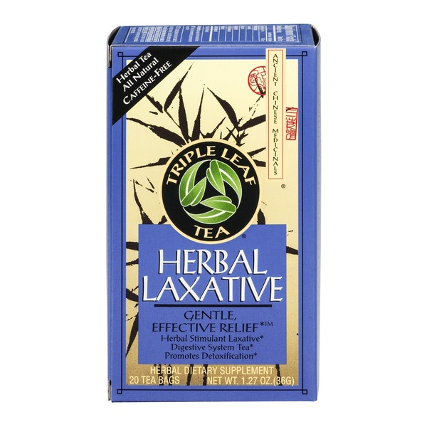 Triple Leaf Tea Herbal Laxative Tea - 20 CT