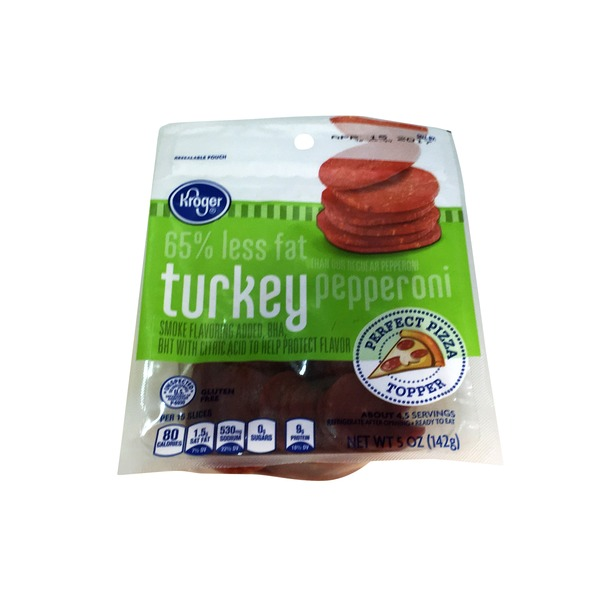 Kroger Turkey Pepperoni Slices
