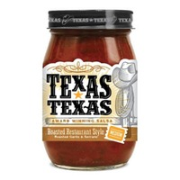 Texas-Texas Select Restaurant Style Roasted Garlic & Serrano Medium Salsa