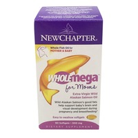 New Chapter Wholemega For Moms 500 Mg Tablets