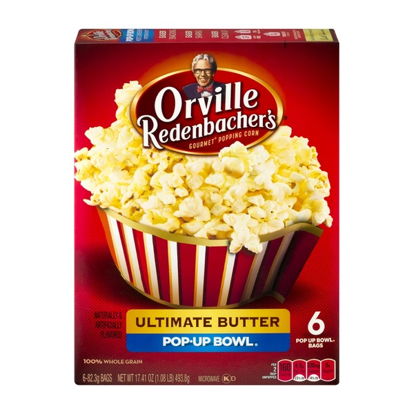 Orville Redenbacher's Ultimate Butter Pop-Up Bowl - 6 CT