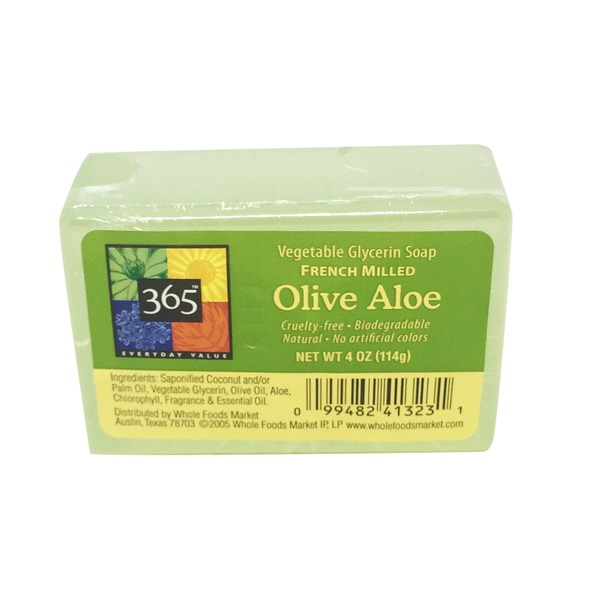 365 Olive Aloe Vegetable Glycerin Bar Soap