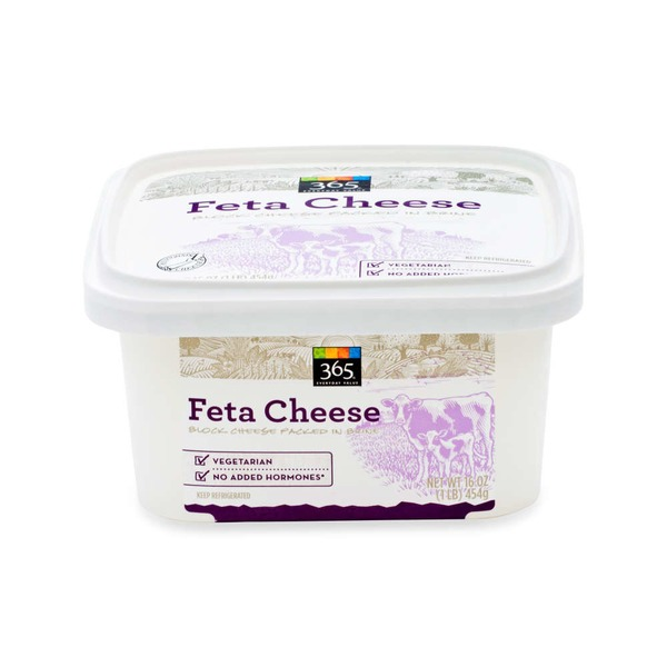 365 Taditional Greek Recipe Feta Cheese Block in Brine