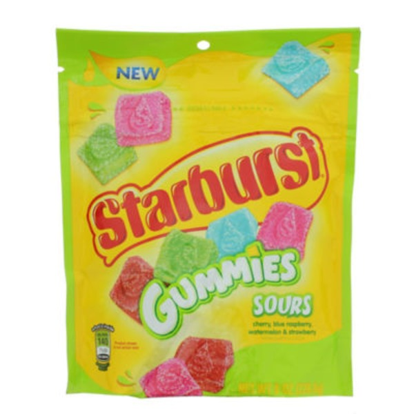 Starburst Gummies Sours