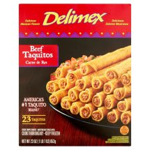 Delimex Beef Taquitos, 23 count, 23 oz