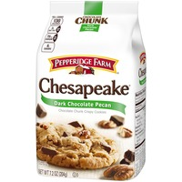 Pepperidge Farm Cookies Chesapeake Dark Chocolate Pecan Crispy Cookies