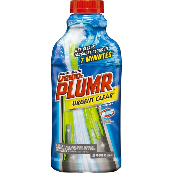Liquid Plumer Pro-Strength Urgent Clear