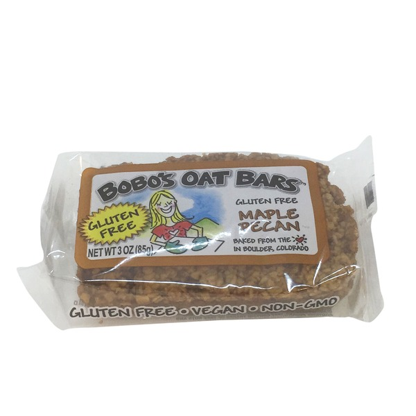Bobo's Oat Bars Gluten Free Maple Pecan Oat Bar