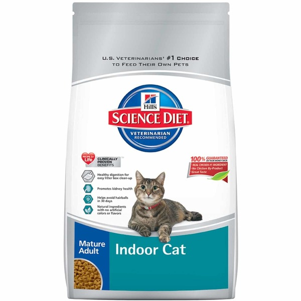 Hill's Science Diet Mature Adult Indoor Dry Cat Food