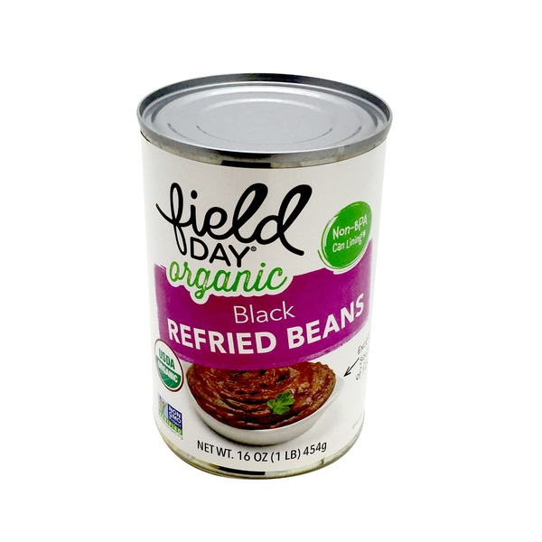 Field Day Vegetarian Black Bean Refried Beans