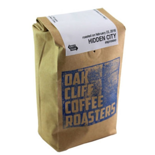 Oak Cliff Coffee Hidden City Espresso