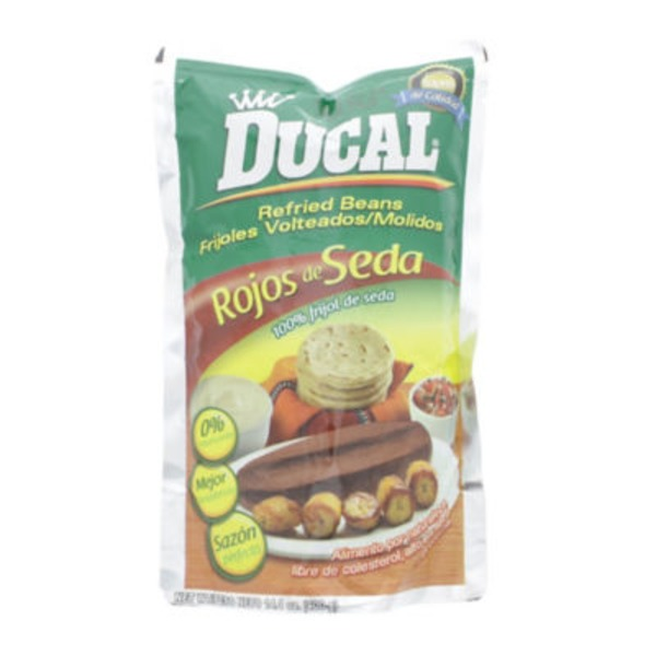 Ducal Red Silk Refried Beans