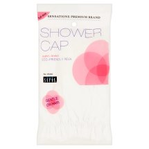 Siris Sensations Premium Brand Full Size Satin-Lined Shower Cap W440