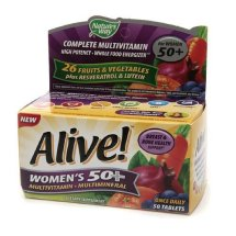 Nature's Way Alive! Women's 50+ Tablets, 50 Ct